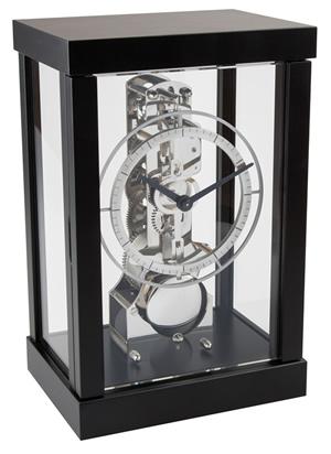 Modern Table Clock In Black