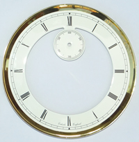Dial 0905: Oakside 182mm open face white Dial.