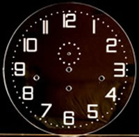 Dial 100: Oakside Special Clear Perspex Dial 300mm