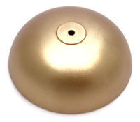 Gongs 021: Cast brass bell. 100mm diameter