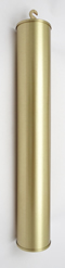 Weight Shells 0005: Shell 40mm x 250mm brushed finish with 2.0kg filling.